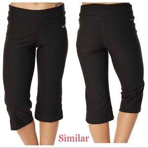 Nike Dri-Fit Work Out Training Capri Pants Size L